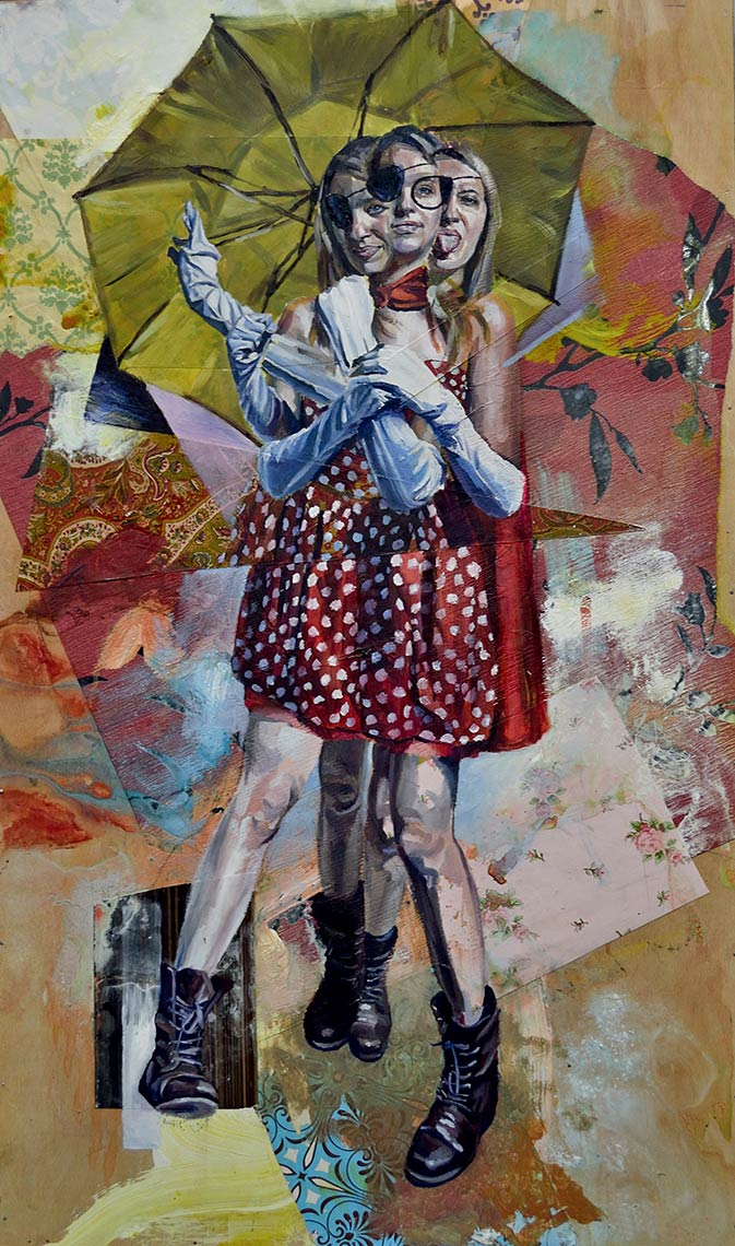 Absent-Introspection_2012_Collage-and-Oil_20x34AndrewYoung
