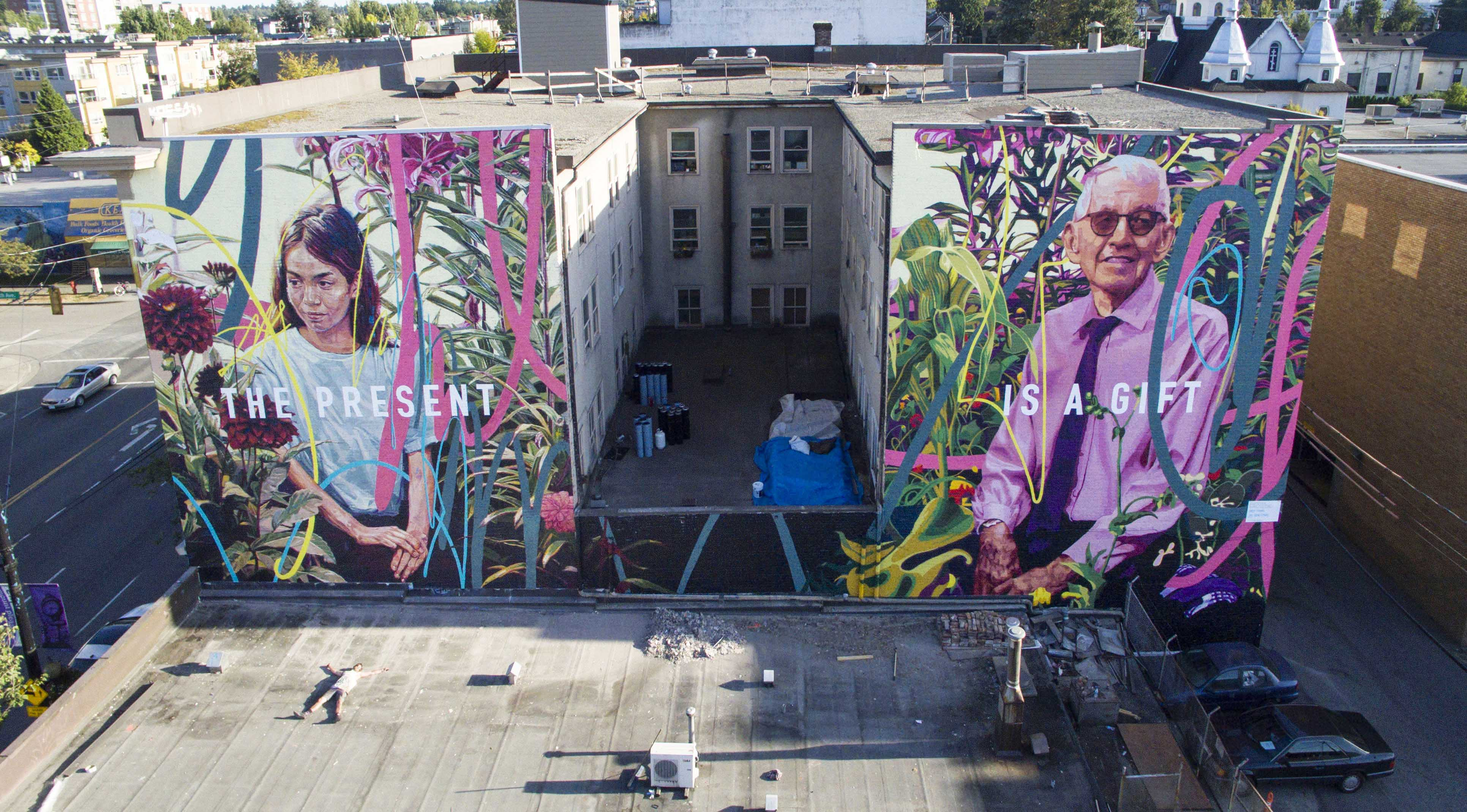 thepresentisagift_drewyoung_mural_vancouver